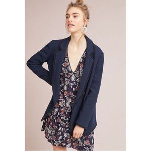 ANTHROPOLOGIE HELEN BERMAN LONDON TWEED JACKET